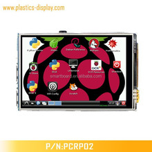"""3.5"""" lcd (4"""", 5"""", 7"""" are available)for Raspberry Pi 2 or B+ Raspberry Pi A+ with 320*480 Resolution"""