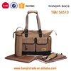 Best popular canvas adult diaper bag for baby
