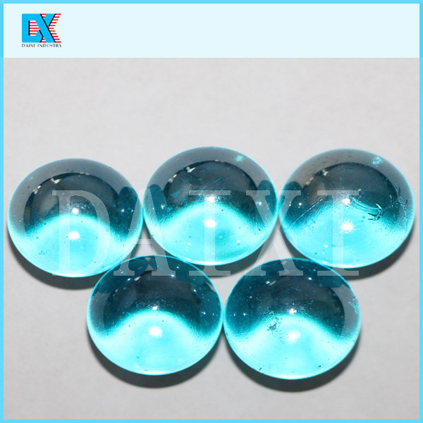 Mm blue large solid glass balls buy