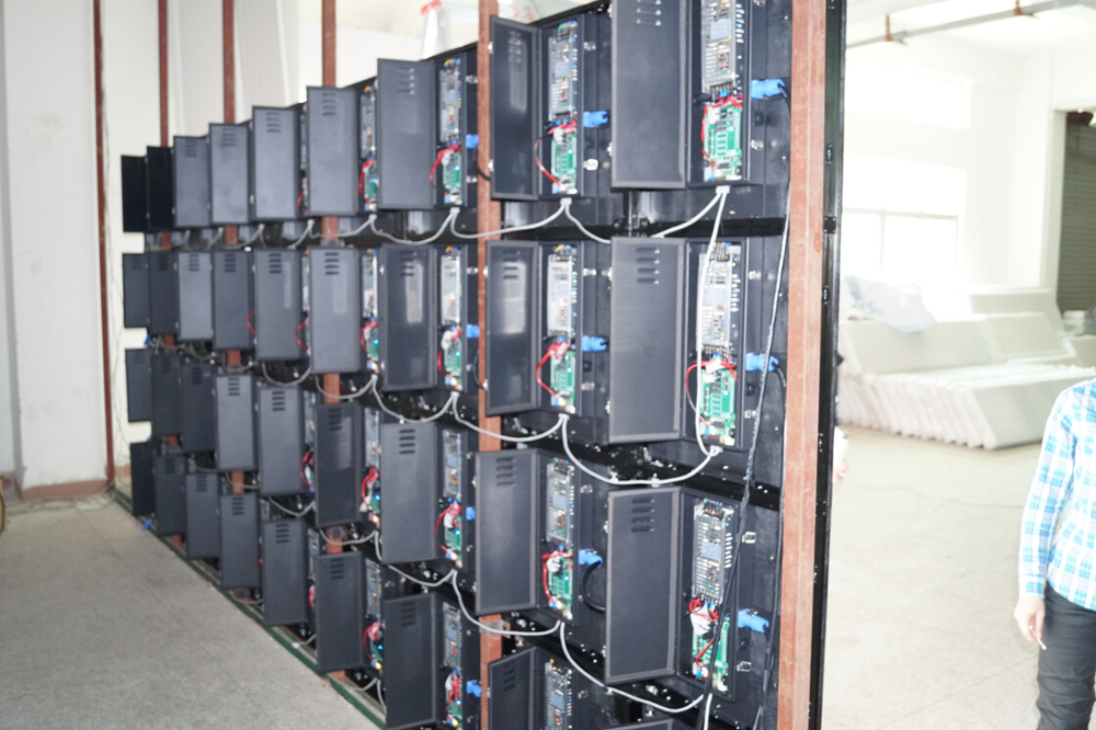 P6.944 SMD outdoor Aluminium Die casting led rental display