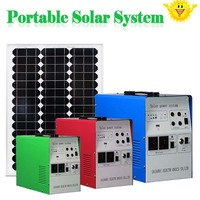 2015 best price 300w 12v solar power system for fan&tv&computer&fridge solar electricity generating system for home