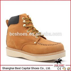 cambot boots/Goodyear Welted Split Embossed boots/safety hemlet