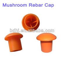 Plastic rebar Safety Cap, Mushroom Rebar Cap,Plastic material