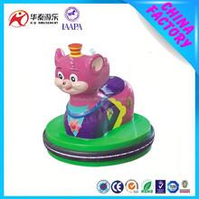 2015 hot sale electric animal ride little mouse mini bumper car for child