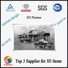 plastic pictures printing/3d lenticular images/home decoration pictures