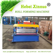 Russia XN-C10 full automatic tiles making machine metal roofing roll forming machine steel sheet machine