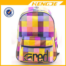 2015 korean style fashion girls school backpack bag