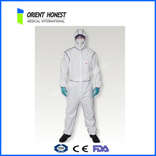 chemical resistant coverall disposable /fire retardant disposable coveralls