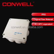 plastic waterproof electric enclosure box extrusion enclosure