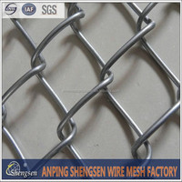 New product Chain link wire mesh rolls/Plastic Chain link fence/used chain link fence for sale