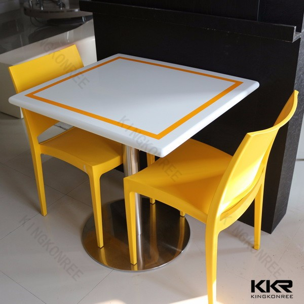 Square dining tables and chairs cafe table furniture buy cafe table