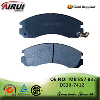 non-asbestos ,disc brake pads, OE quality, manufacturer hot sales auto parts(OE: MB 857 837/D530)