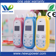 OEM multi-language color box in stock products GPRS mini portable big battery child phone