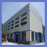 Q345B ISO9001:2008 prefab steel erection frame