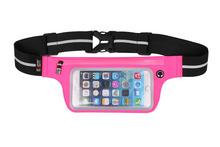 Touch Screen Sport Cellphone Waist Bag Waist Pack Fanny Pack Waterproof Running Bags Purse Mobile Phone Case for IPHONE 6 Pocket