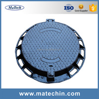 Foundry Customized Good Quality Cast Iron Water Meter Cover