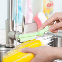Plastic Safe Food Grade Cleaning Brush For Fruits And Vegetable
