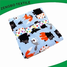 Good quality ultra comfort and fashion polyester printing coral fleece blankets with low price