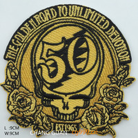 3d advanced number embroidery patches