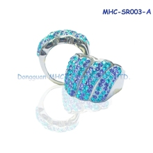 Factory supply fashion ring 316 Stainless Steel Women Wedding Ring