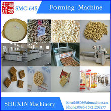 Mini rice bar machine,forming machine,cutting machine