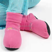 Microwave hot boots cozy boots