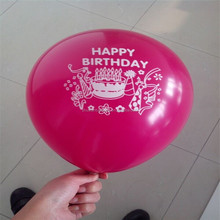 Chinese new year printed balloon,advertising balloons