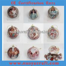 2015 plastic balls wholesale with angel