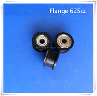 plastic double flange ball bearing 5*21*11.2 (625zz) with competitve price