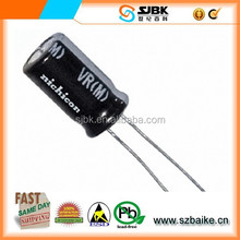 Aluminum Capacitors Nichicon UVR2A220MED AP 22UF 20% 100V RADIAL
