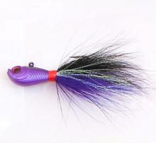 Chentilly03 CFF002 Bucktail Jig Fishing Bait Bass Fishing Tackle Fishing Gear