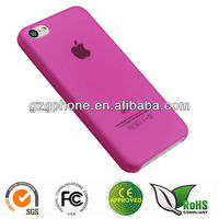 TPU skin case for iphone 5c