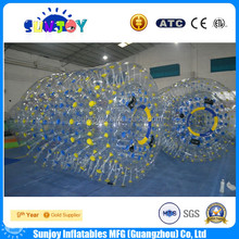inflatable water roller ball, inflatable water wheel for sale