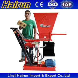 German technology HR1-25 Eco Brava ecological brick machine soil cement made in China