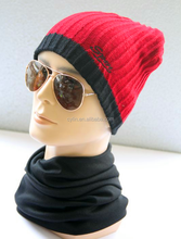 Wholesale new style winter fashion men's knitted hats