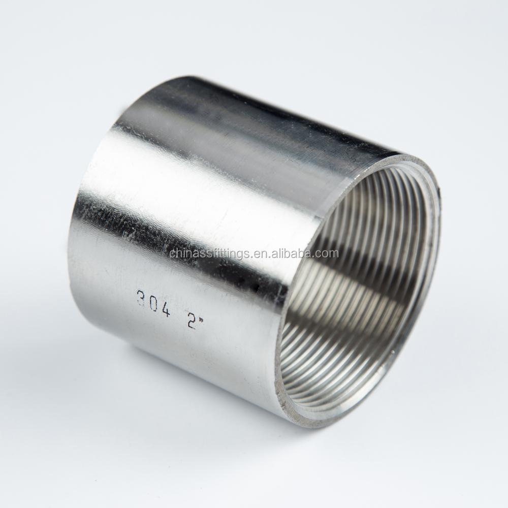 Stainless steel threaded fittings full coupling buy