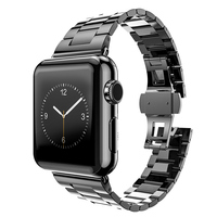 HOCO Gelang Series solid Stainless Steel Watch Bands For Apple Watch, replacement band for apple watch 38 42mm