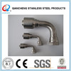 stainless steel hydraulic fitting with 90 degree elbow
