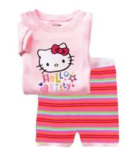 babys clothing Children's clothes kids pajamas wholesale 100% cotton sleepwears suit casual