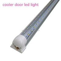 free shipping to USA High Lumen CE RoHS 39w 6ft cooler door led t8 integrated tube light