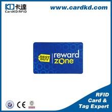 4 color offset printing vip rewards card sample