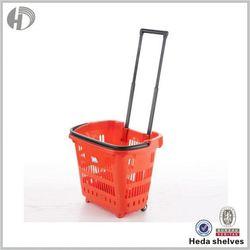Metal Foldable Shopping Cart Trolley