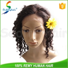 Deep Wave silver white wig with high quality
