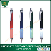 First L001 2014 New Arrival Plastic Ball Pen With Led Light