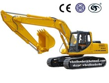 22 tons digger earth moving equipment hydraulic crawler excavator