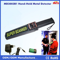 OEM!!! Hot Sales MD3003B1 Super Scanner&Handheld Metal Detector with Sound & Vibration Alarm