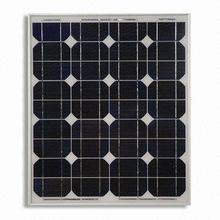 thin film 65watt mono crystalline solar module China production line