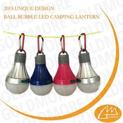 Manufacturer made led camping lantern lights bulb with hook