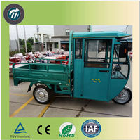 Cargo electric china tricycle for adults, electric delivery tricycle 3 wheel motorcycle/cargo tricycle with cabin/drift trike