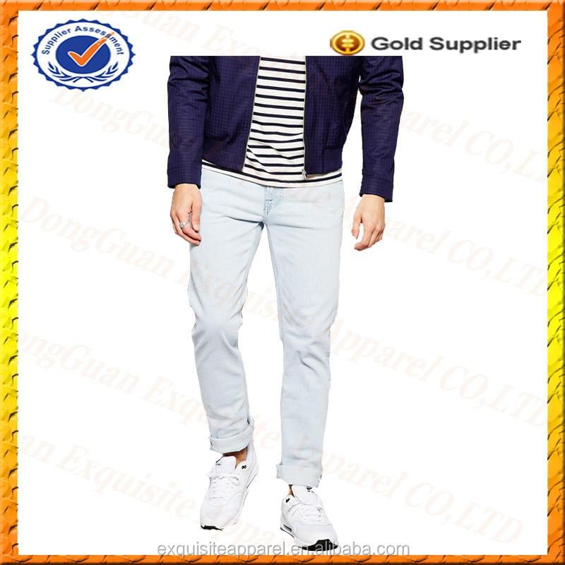 Custom 100% Cotton Jeans Mens Low Price/wholesale Jeans ...